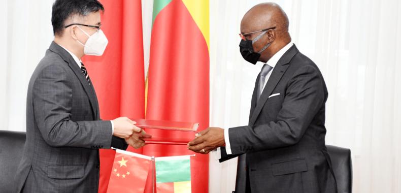 Densification du réseau numérique haut débit : Le Bénin reçoit 22 milliards F Cfa de la Chine
