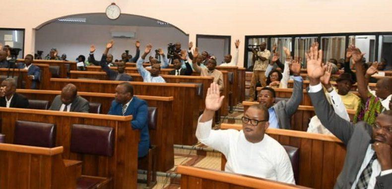 Assemblée nationale: Un budget de 19 176 505 315 F Cfa pour 2022